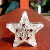 Dekorácie - Talisman * Pentagram / Ochrana - 4320023_