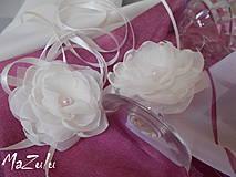 Nádoby - ozdoba na svadobné poháre - 4320600_