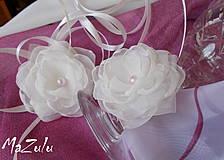 Nádoby - ozdoba na svadobné poháre - 4320602_