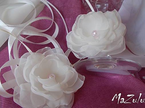 ozdoba na svadobné poháre