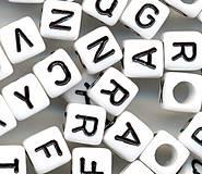 Korálky abeceda kocky (balíček 500ks)