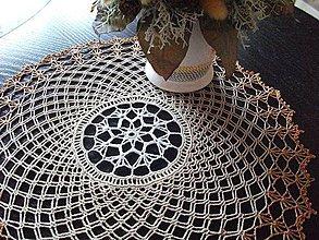 Úžitkový textil - Prestieranie - pavučinka - 4325745_