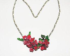 Náhrdelníky - rose 1 - 4326137_