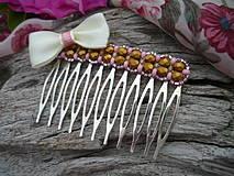 Ozdoby do vlasov - Hřebínky do vlasů Paris Romantique - 4325703_