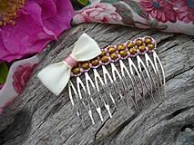 Ozdoby do vlasov - Hřebínky do vlasů Paris Romantique - 4325705_