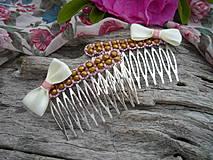Ozdoby do vlasov - Hřebínky do vlasů Paris Romantique - 4325716_