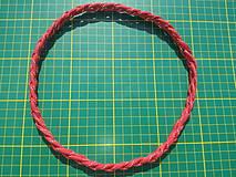 Ozdoby do vlasov - Reflexívna čelenka - hadí úplet - 4324408_