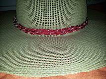 Ozdoby do vlasov - Reflexívna čelenka - hadí úplet - 4324410_