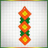Náhrdelníky - Mozaikový prívesok Eufória - 4324068_