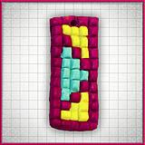 Náhrdelníky - Mozaikový prívesok Zásah - 4324304_