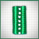 Náhrdelníky - Mozaikový prívesok Jeden smer - 4324348_