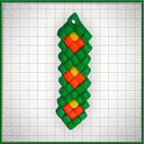 Náhrdelníky - Mozaikový prívesok Radosť - 4324377_