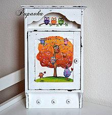 Krabičky - Sovičky rodinka - 4327887_