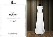 Šaty - Spoločenské šaty rybí chvost šifónové rôzne farby Zlava - 4332044_