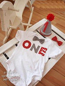Detské oblečenie - oblečko na párty..../body, motýlik, party klobúčik/ - 4329836_