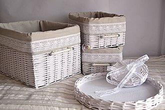 Košíky - Jedálenský set MERY - 4330831_