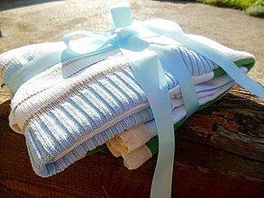 Úžitkový textil - Detská deka z bavlnených svetrov - 4330728_
