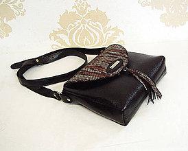 Kabelky - Kožená kabelka Suri