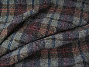 Textil - Flauš káro - 4333830_