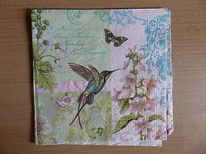 Papier - kolibrík - 4334951_