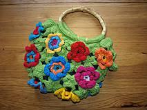 Květinová kabelka