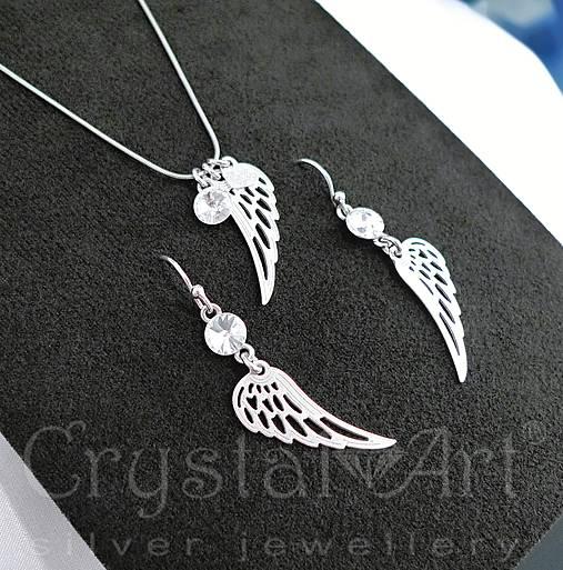 1eeead3e4 Anjelské krídla /ag925/ / CrystalArtJewellery - SAShE.sk - Handmade ...