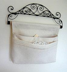 Úžitkový textil - Organizér na drobnosti - 4338719_