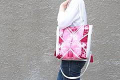 Veľké tašky - Velká s batikou - 4340862_