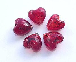 Korálky - Vinutka sancta  piros - 4342099_