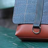Tašky - Pánska taška Blue - 4342258_