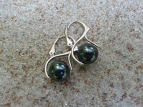 Náušnice - Tahitské perly - 4345790_