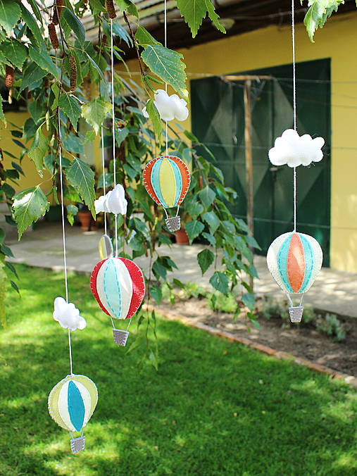 Uletené balóny