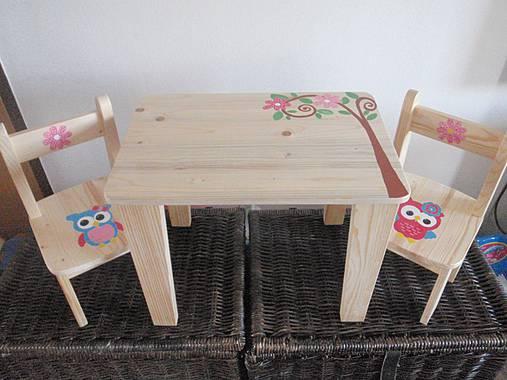 3ede69ae51c2 Detský set drevený-Sovičky   Janulik123 - SAShE.sk - Handmade Nábytok