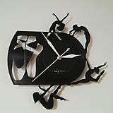 Balerina - vinylové hodiny na LP