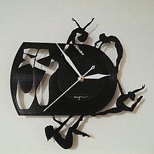 Hodiny - Balerina - vinylové hodiny na LP - 4348378_