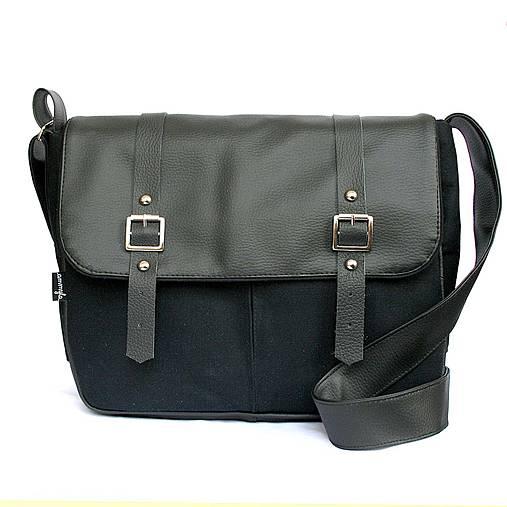 a4b30517e7 Denver (unisex taška čierna)   Ammyla - SAShE.sk - Handmade Kabelky