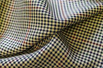 Textil - Kárované pepito - 4349033_