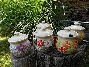 Nádoby - Kvetinková cukornička/nádoba na med - 4349158_