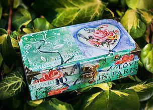 Krabičky - Drevená šperkovnica - 4347808_