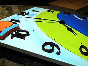 Hodiny - hodiny s autami - 4350269_