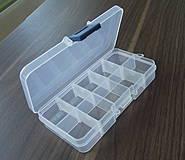 - Plastový organizér 13,2 x 7,2 x 2,3 cm - 4350181_