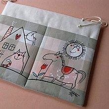 Textil - DOMA - kapsář na školní lavici - 4352002_