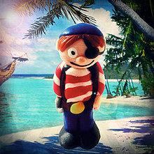 Hračky - Malý pirát NA ZÁKAZKU - 4350798_