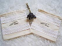 Úžitkový textil - Vrecúško - Paris - 4354383_