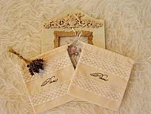 Dekorácie - Vrecko - užitočná dekorácia - 4354416_