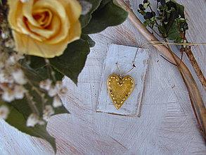 Náhrdelníky - Romantické srdce - 4353832_