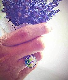 Prstene - s vůní levandule - 4354478_