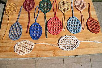 Dekorácie - Jednofarebné veľkonočné vajíčka - 4356273_