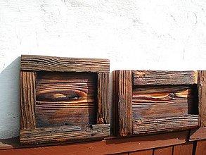 Rámiky - Rámiky zo starého dreva - 4355565_