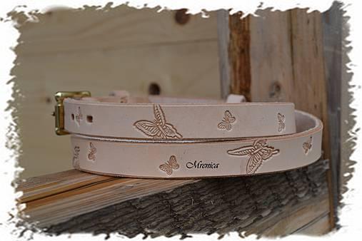 2a3f93f58 Opasok motýlia rodinka / Mrenica - SAShE.sk - Handmade Opasky